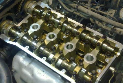 Двигатель Mazda CX-5 после пробега 40 000 км с маслом Castrol 5w30