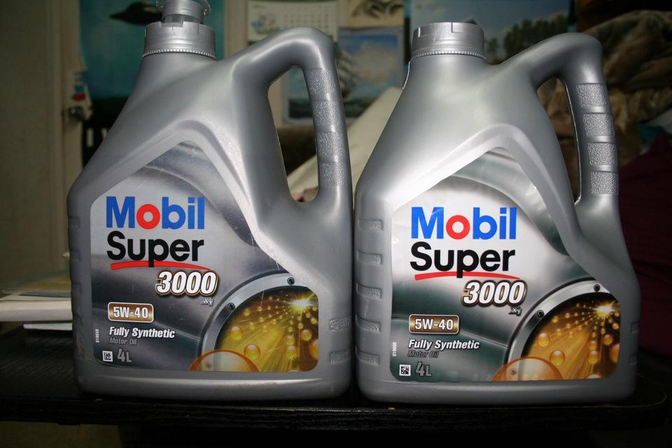Масло Мобил 3000 5W40 особенности свойства и характеристики