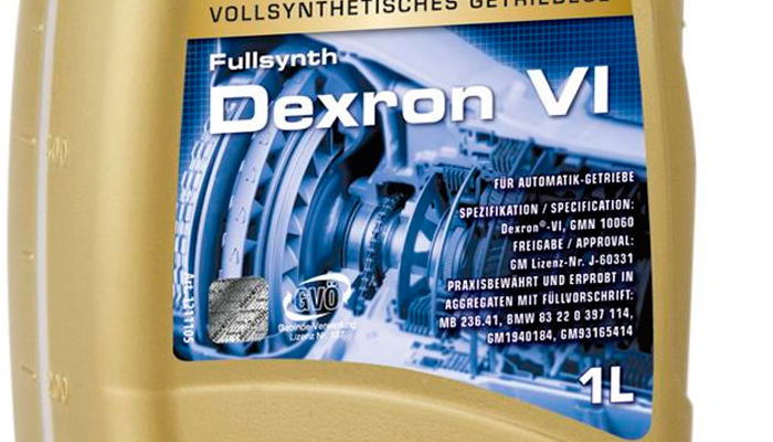 GM Dexron 6: масло для современных АКПП
