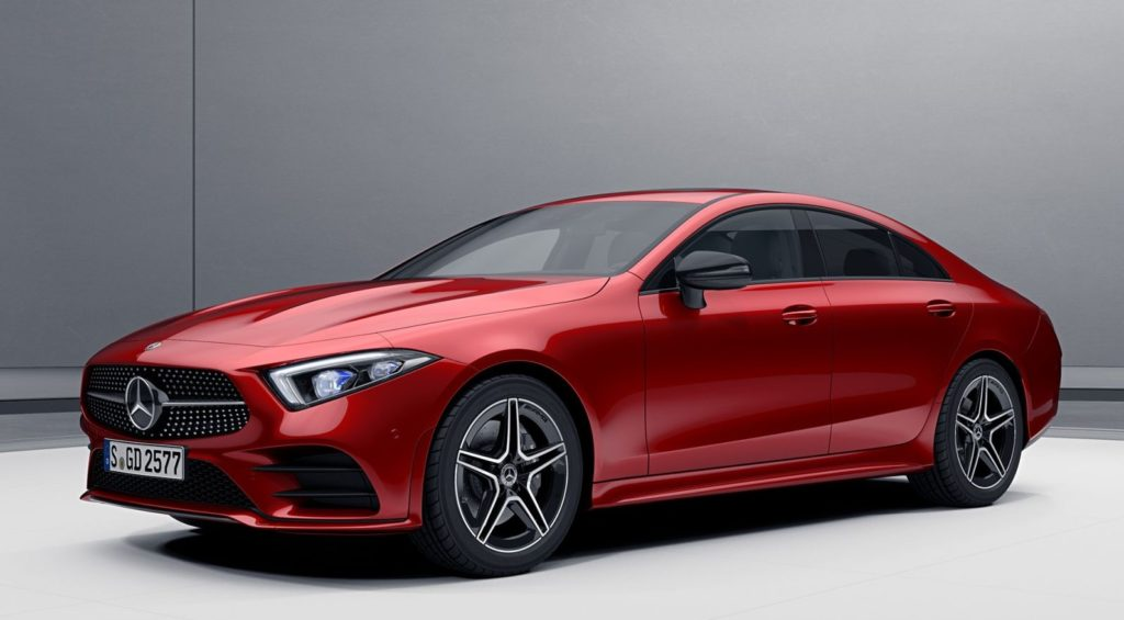 Характеристика Mercedes-Benz CLS