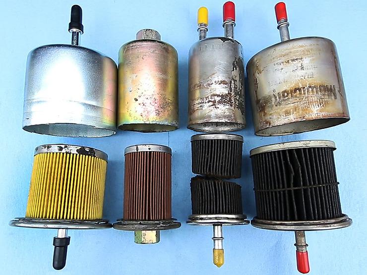 Признаки необходимости замены топливного фильтра